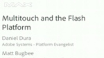 Multi-touch and the Flash Platform