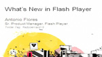 What's New In Flash Player