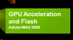 GPU Acceleration in the next Flash Player