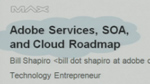 Adobe Services, SOA, and Cloud Roadmap