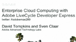Adobe Enterprise Cloud Computing: LiveCycle Express