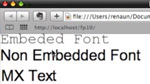 Migrating to Flex 4: Embedding Fonts