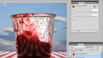 Maskierung der Transparenz in Photoshop CS5