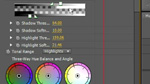 Setting up the 3 Wheels of the 3-Way Color Corrector