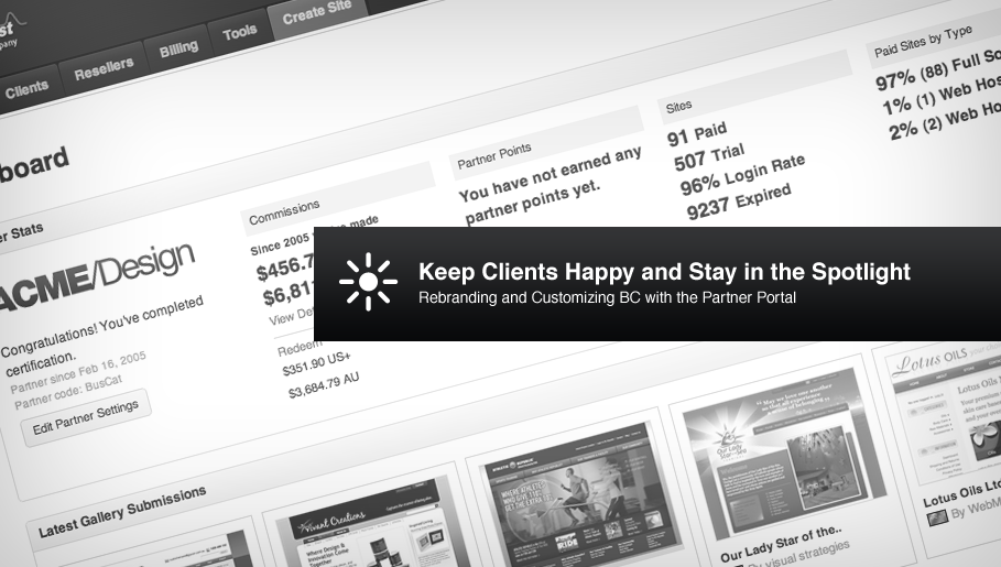 Partner Portal: Keep Clients Happy and Stay in the Spotlight