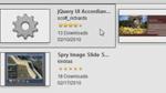 AJAX-Applikationen über den Widget Browser einfügen
