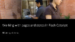 RIA Step-by-step #6 - Working with pages and states in Flash Catalyst CS5.5