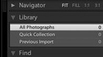 LR - Overview of the Lightroom Interface