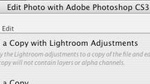 "Using the ""Edit In"" Command in Lightroom (LR1)"