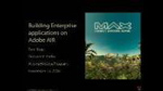 Adobe@Adobe: Building Enterprise Applications on Adobe AIR