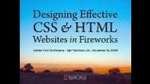 Designing Effective CSS and HTML Websites in Fireworks CS4