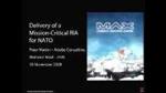 Critical RIA for NATO