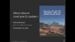 What's New in LiveCycle ES Update 1 by Marcel Boucher
