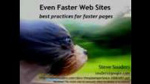 Even Faster Web Sites by Steve Souders