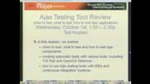 Ajax Testing Tool Review by Ted Husted
