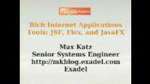 Enterprise RIA Tools: JSF, Flex and JavaFX by Max Katz