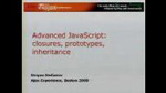 Advanced JavaScript: Closures, Prototypes, Demystified