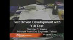 Driven Development with YUI Test by Nicholas Zakas