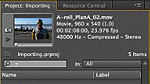 GS-03: Importing files into Adobe Premiere Pro