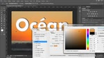 Adobe Photoshop CS6 : Incruster une image dans un texte