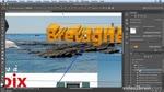Adobe Photoshop CC : Le texte extrudé en 3D dans Photoshop CC