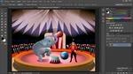Objetos en capas y objetos acoplados en Photoshop