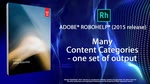 RoboHelp 2015: Enhanced Content Categories