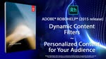 RoboHelp 2015: Dynamic Content Filters - See only what you need