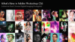 What's New in Adobe Photoshop CS6
