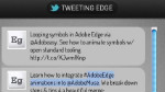 Edge und die Twitter API
