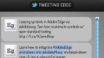 Edge und die Twitter API