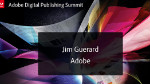 Matinée Médias - Introduction & Vision Adobe
